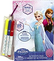 Princess & Frozen Activity Pad with 3 Markers [並行輸入品]