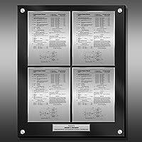 特許Plaque–ブラックプレゼンテーションパネルpp-ez22b