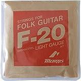 MORRIS F20L アコースティックギター弦×5SET