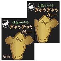 広島ご当地カレー 世羅みのり牛ぎゅうぎゅうカレー 2食お試しセット
