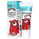 Buds Organics Buds Oralcare Organics Children's Xylitol Toothpaste-Strawberry, 1.7 fl.oz