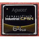 Apacer コンパクトフラッシュ CF6H 64G ディスク容量 64GB CF SLC (R:80MB/W:75MB) 産業用途向 バルク品
