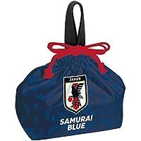 スケーター ランチ巾着 お弁当袋 29×16.5×12cm JFA(侍ブルー) サッカー日本代表 日本製 KB7