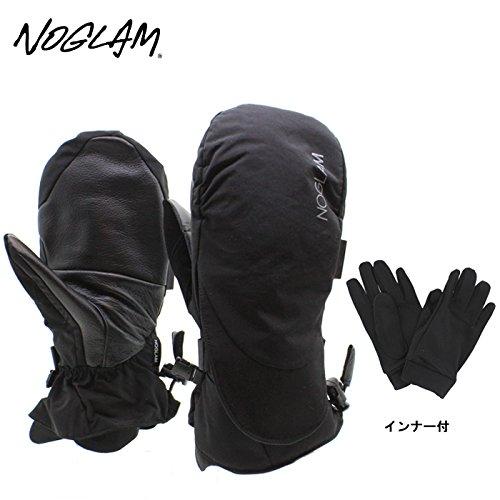 (ノーグラム)NOGLAM 2015年モデルnog-113 グローブ THE MOUNTAIN IICUT MITTEN/BLACK 日本正規品 ミトン M