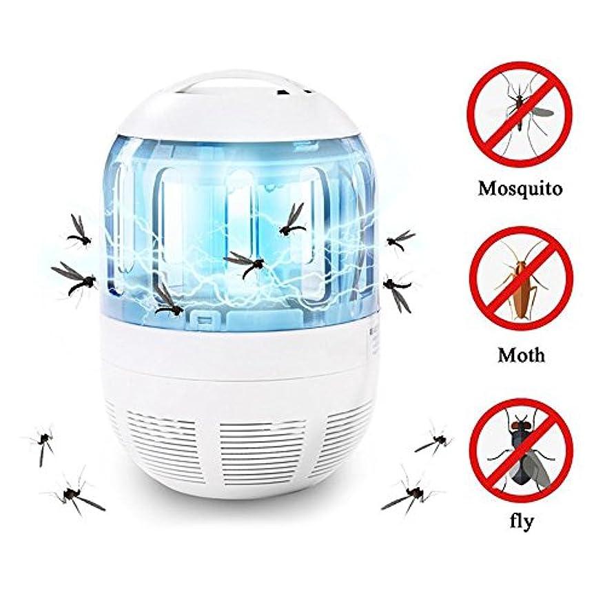 説教半島動力学コクイム - 電子バグザッパモスキートトラップフライ昆虫モスキラーキラーUSB UVライトランプ360度モスキートアトラクション家庭用蚊ランプ