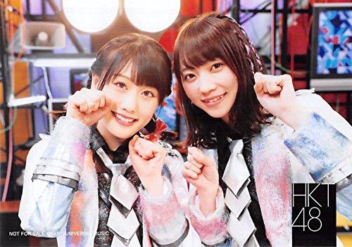 【小田彩加 駒田京伽】 公式生写真 HKT48 バグっていいじゃん 店舗特典 mu-mo