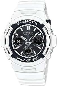 [カシオ]CASIO 腕時計 G-SHOCK White and Black Series 世界6局対応電波ソーラー AWG-M100SBW-7AJF メンズ