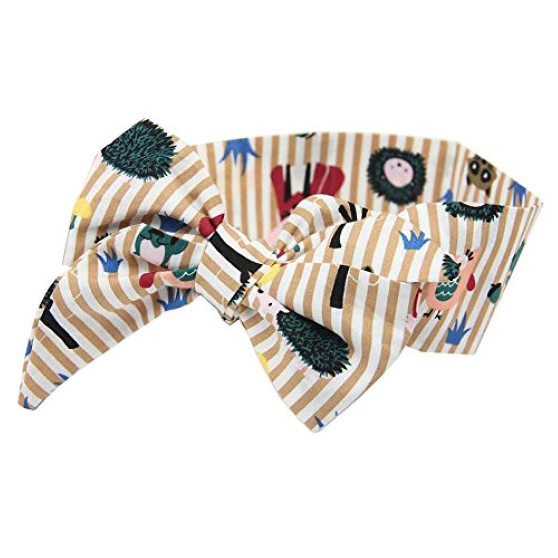 赤ちゃんの女の子のヘアバンドかわいい幼児の弓のヘッドバンドターバンの結び目のヘアバンド- A9