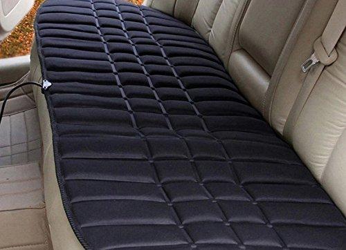 12V車用ホットシートヒーター 電動シート暖房 座面 腰面 ...