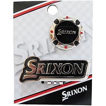 DUNLOP(ダンロップ) グリーンマーカー SRIXON クリップマーカー  GGF-12160 ブラック