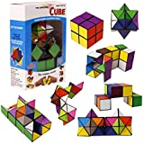 TYLife パズルおもちゃ スピードキューブセット おもちゃパズルキューブ 子供と大人用