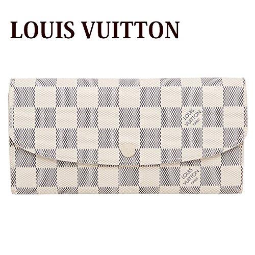 (ルイヴィトン) LOUIS VUITTON 長財布 ダミエ・アズール ポルトフォイユ・エミリー N63546