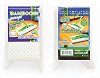 (1) - Bambooee Reusable Bamboo Sweeper Sheets with Sweeper Scrubbing Dots