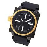 [ウェルダー]WELDER 腕時計 クオーツ ブラック×ブラックラバー K26-5101  【並行輸入品】