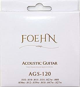 FOEHN AGS-120 Acoustic Guitar Strings 12strings Light 80/20 Bronze 12弦アコースティックギター弦