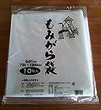 ポリ もみがら袋 厚さ0.07mm 10枚 700x1200mm 籾殻袋 もみ殻袋 透明
