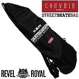 【COUVRIR】 SKATEBOARD BAG 《クブリール》スケートボード(スケボー)デッキ用バッグ ブラック