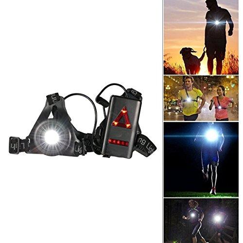 SGODDE LEDランニングライト 250ルーメン USB充電 防水