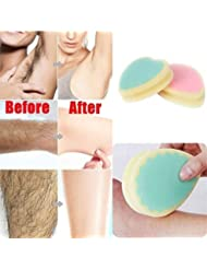 Unisex New Practical Magic Painless Hair Removal Depilation Sponge Pad