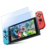 ICHECKEY Nintendo Switch 任天堂 保護 フィルム【2枚セット】強化ガラス ブルーライトカット 日本製旭硝子素材
