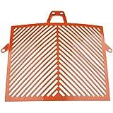 Flameer Radiator Guard Grille Cover Guard Grill Guard Shield High-Temperature Resistance for KTM 1050 1190 1290 Adventure 2013-2017 - Orange/Black - Orange