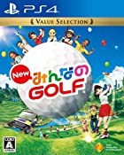 [PS4]New みんなのGOLF Value Selection