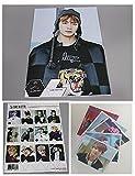 防弾少年団 写真ポスター (16.5 x 11.7インチ) 12枚 + ステッカー1枚 + 写真 (4 x 3インチ) 5枚 BigHit Entertainment
