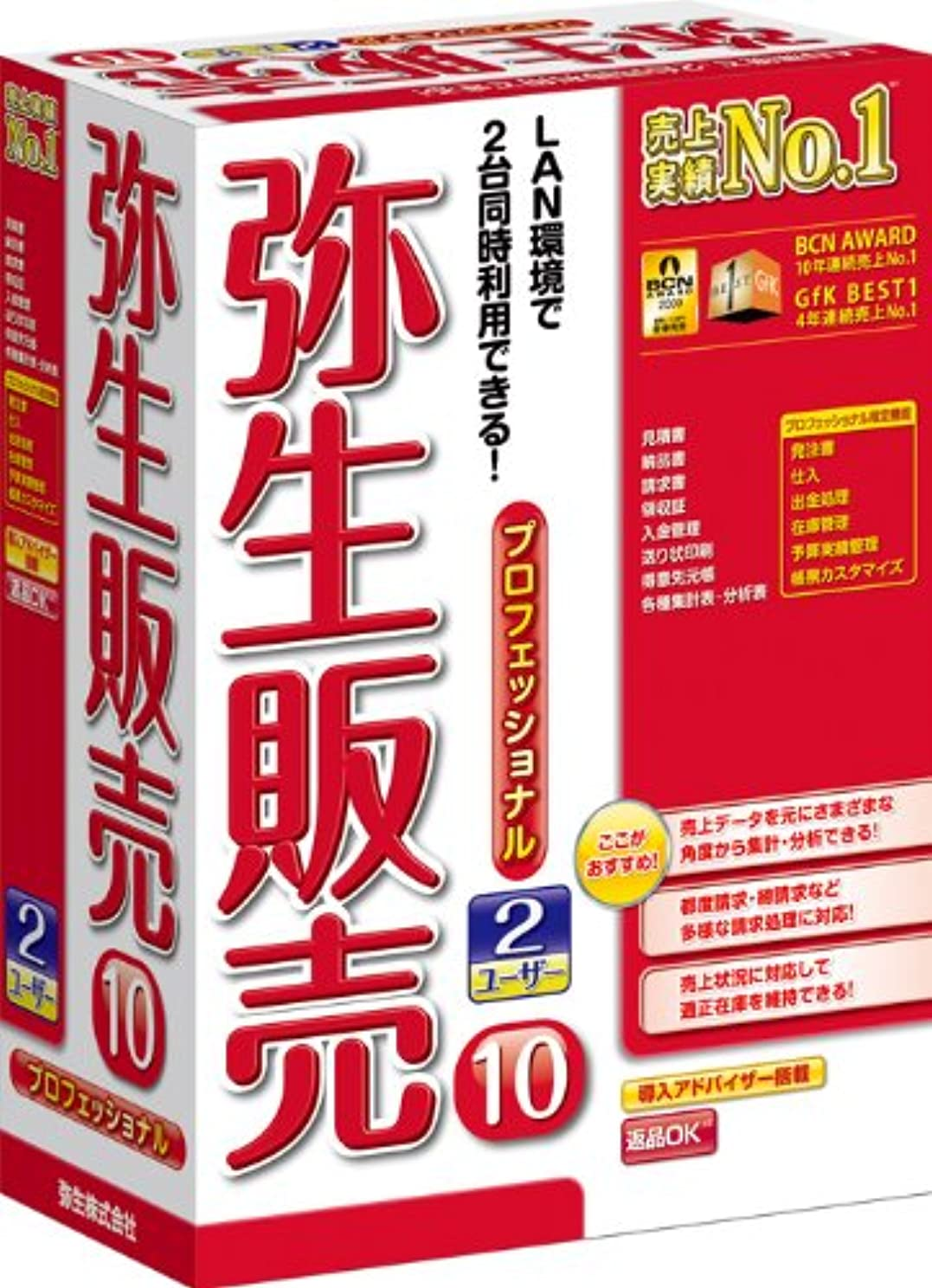 行列最終レディ【旧商品】弥生販売 10 プロフェッショナル 2ユーザー