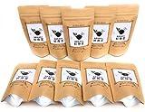 ノンカフェイン 無農薬栽培の杜仲茶 100 TB(10TB×10パック)