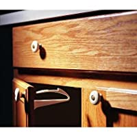 KidCo Adhesive Mount Cabinet and Drawer Lock, 6 Count by KidCo