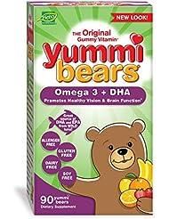 海外直送品 Yummi Bears (Hero Nutritional Products) Yummi Bears DHA, 90 CT