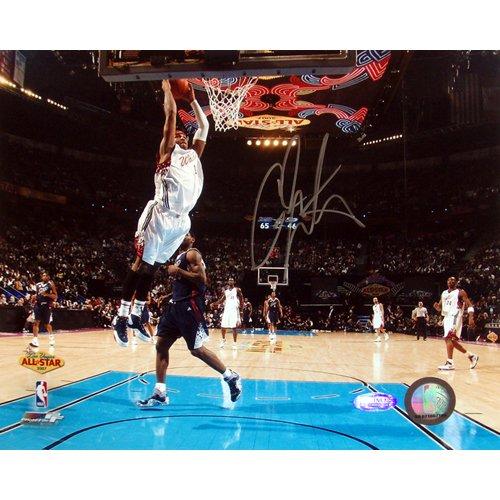 カーメロ・アンソニー オーセンティック直筆サイン8×10フォト 2007 All-Star Game