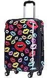 (ラッキーパンダ) Luckypanda MS017-KDG スーツケース 超軽量 機内持込 s TSAロック キャリーバッグ 軽量 キャリーケース かわいい キャリーバック 旅行かばん (SS(1~3日の旅行向け), MS017-KDG-H03)