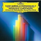 サン=サーンス:交響曲第3番「オルガン」、メシアン:昇天