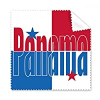 パナマ カントリーフラッグ ネームグラス 布製クリーニングクロス 電話画面クリーナー 5個ギフト