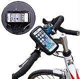Mercury ナビ スマホ 防水マウントホルダー自転車 バイクに iPhone 6 4.7インチ iPhone 5 5s 5cなどに