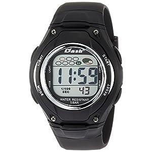 [アリアス]ALIAS 腕時計 デジタル DASH 5気圧防水 ウレタンベルト ブラック ADWW16033DJ1 メンズ