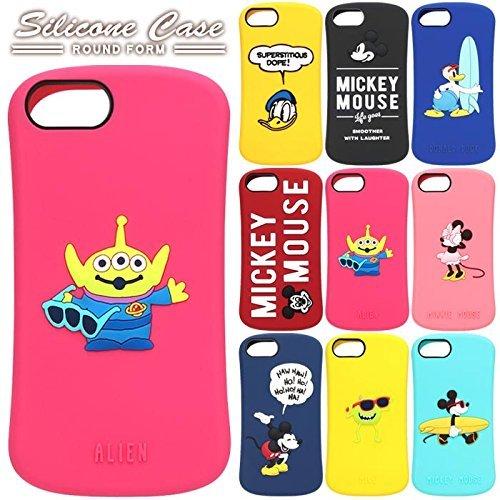 【カラー:ミッキーマウス/レッド】iPhone8 iPhon...