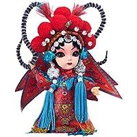 ラブリームーGuiyingクラフト中国北京オペラドールの装飾