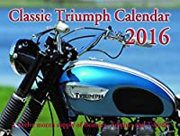 クラシックTriumph Motorcycleカレンダー2016