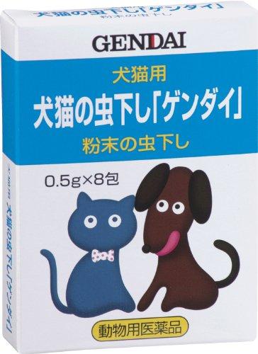 犬猫の虫下し「ゲンダイ」(動物用医薬品)...
