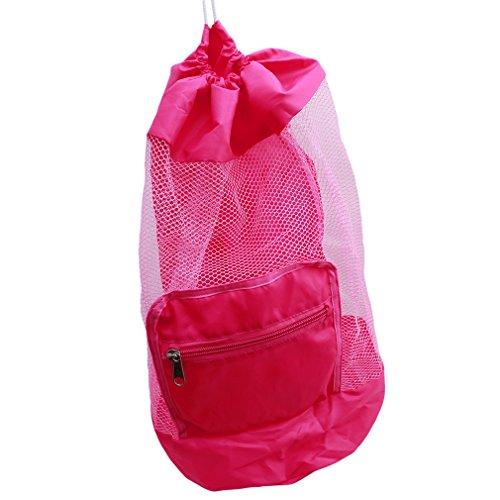 [해외]PINKING 메쉬 가방 장난감 지갑 가방 여기 모래 가방 대용량 모래 장난 비치 휴대하기 편한/PINKING mesh bag toy bag bag sandbox bag large capacity sandy beach easy to carry