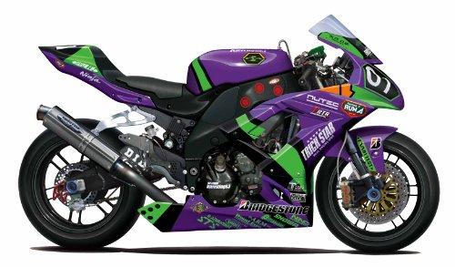 フジミ模型 1/12 バイクシリーズ No.7 エヴァンゲリオンRT初号機TRICK☆STAR KAWASAKI ZX-10R 2010年仕様