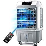 ZHIRONG 冷却ファン追加水蒸発工業エアコンファンインテリジェントリモートコントロール3スピード調整モバイルエアクーラー150W