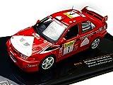 ixo 1/43 三菱・ランサー エボリューションVI 1999 ラリー・モンテカルロ 優勝 #1