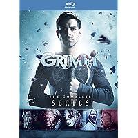 Grimm Season 1-6 Complete BOX [Blu-ray Region Free 日本語無し](Import)