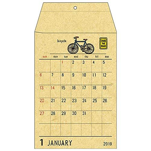 ポケットカレンダー 壁掛けタイプ <2019年1月から2019年12月対応> C-1912