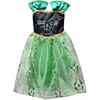 LOEL Princess Snow Queen Party Costume Dress