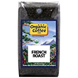 The Organic Coffee Co., French Roast- Whole Bean, 2-Pound (32 oz.), USDA Organic