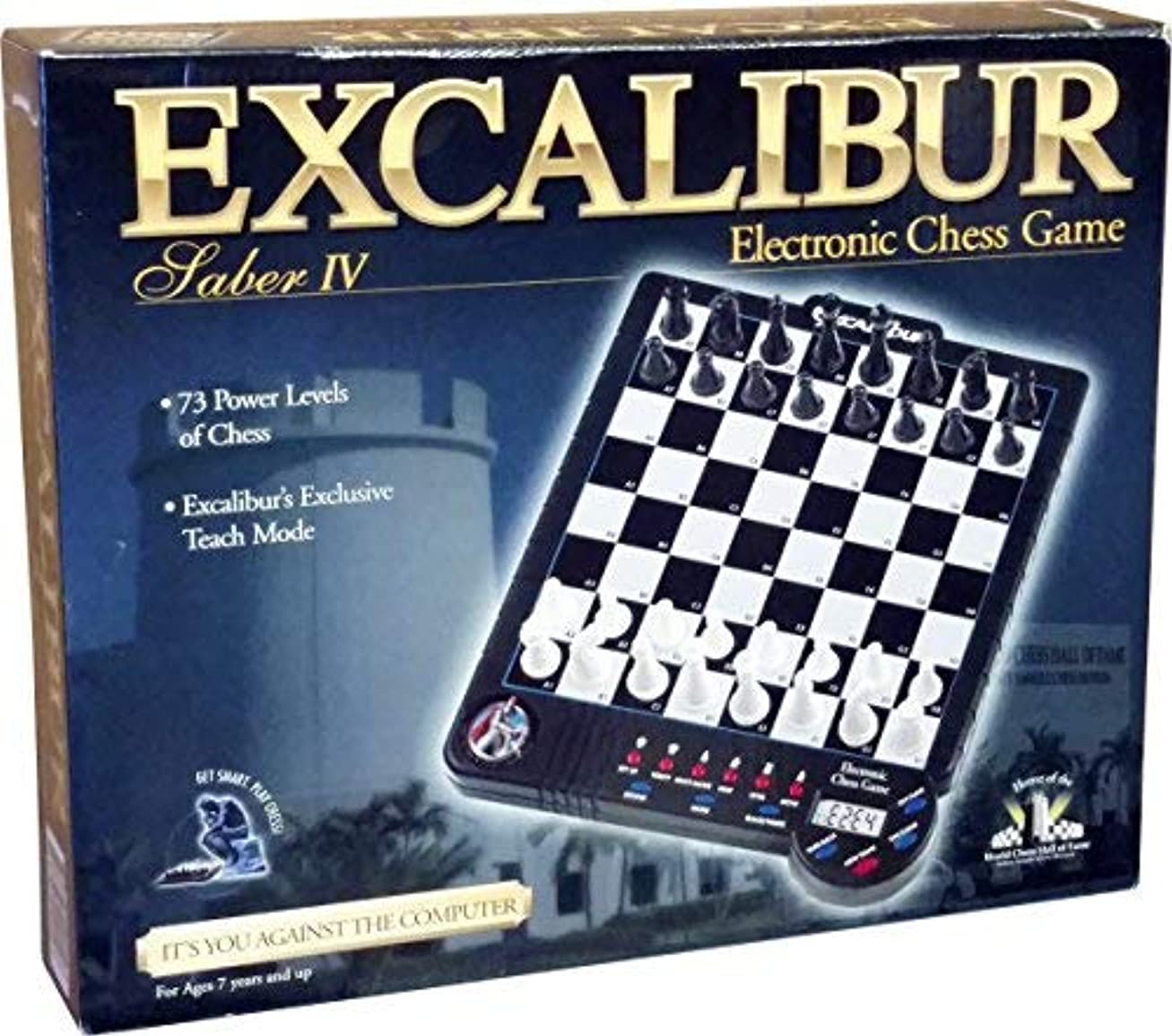 Excalibur Electronic Saber 4 Electronic Chess Game [並行輸入品]